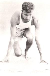 Sri Chinmoy 100 m-Lauf-Champion