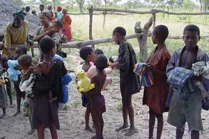 Der von Sri Chinmoy geleitete humanitäre Dienst in Angola